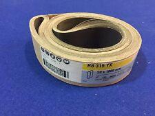 50 X 1800 mm P180 RB315YX Hermes cinta abrasiva. PVC acristalamiento taller suran