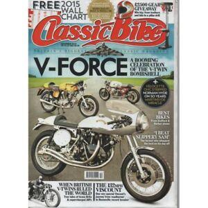 Classic Bike Magazine December 2014 V-Force 132mph Viscount (004)
