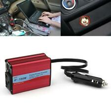 Digital 150W Car Power Inverter AC 110V/ 220V Adapter With Dual USB Ports XN