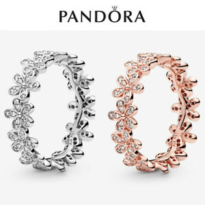 ALE S925 Genuine Silver Pandora Daisy Flower Ring New With Gift Box
