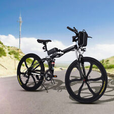 26'' Bicicletta Elettrica Mountainbike 250W Bici-Elettrica Pieghevole 21velocità