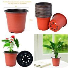 Plastic Pot/Pots Seed Plant Planter Nursery Garden Container 4 Inch 100 Pieces