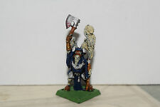 Warhammer Chaos Beastmen Shaman with Axe and Staff (OOP)
