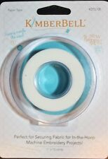Kimberbell Paper Tape  Great for Securing Fabric In-The-Hoop Machine Embroidery!