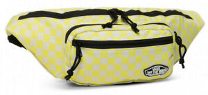 Vans Off The Wall Unisex Street Ready Fanny Pack Waist Bag - Lemon Checkerboard