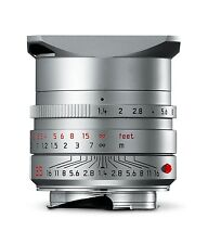 LEICA 35MM F/1.4 ASPH FLE SUMMILUX-M SILVER (6-BIT CODED) LENS MINT for M Camera