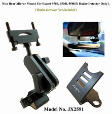 1 Nice Car Mount For The Rear Mirror Good For Escort 9500 Series Radar Detector