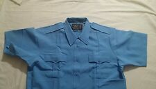 The Command by flying cross women S/S shirt,size 44, Light blue, style176R7845