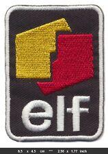 ELF Aufnäher Aufbügler Patch Auto Racing Team Frankreich France EL4 TURBOVERSAND