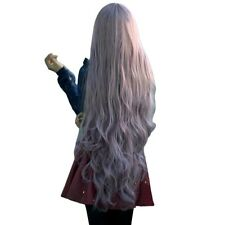 100cm Womens Lady Long Curly Wavy Hair Full Wigs Cosplay Party Anime Lolita Wig