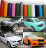 Colourful Flat Entire Car Matte Finish Vinyl Wrap Film Sheet Sticker Decal ACAC