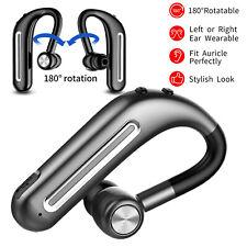 Rotation Bluetooth Headset Wireless Stereo Headphone for iPhone Nokia Samsung