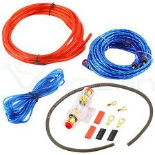 Kit de Cables Rca Audio Instalación Amplificador Coche Subwoofer Car Cableado