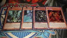 *** DRAGON RULER 4-CARD SET SECRET *** BLASTER, REDOX, TIDAL, TEMPEST YUGIOH!