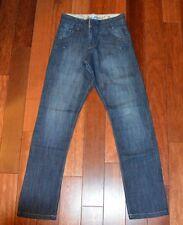 Superbe pantalon jeans bleu garçon OKAIDI 12 ans coupe Carrot TBE