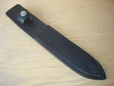 1 NEW BUCK KNIVES 976 BUCK DAGGER KNIFE BLACK LEATHER SHEATH ONLY