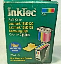 Inktec Refill KIt for Lexmark 15M0120 & 15M0125 Samsung C61 Color Ink Cartridge