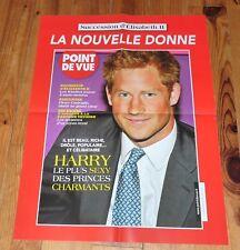 AFFICHE POSTER POINT DE VUE 2015 ENGLAND ANGLETERRE PRINCE HARRY DE GALLES