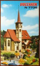 """Vollmer 7736 ( 47736 ) N - Kirche """" Ditzingen """" NEU & OvP"""