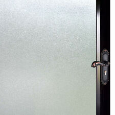 Privacy Window Film Frosted Glass Non-Adhesive Sticker No Glue Self Static Cling