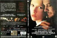 LA RAGAZZA CON L'ORECCHINO DI PERLA (2003) di Peter Webber -DVD USATO - DOLMEN