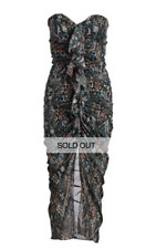 Veronica Beard Peyton Silk Ruched Cocktail/Party/Sexy Dress Sz 4 Sold Out! $650