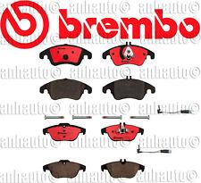 Brembo Ceramic Brake Pads Sensors  Front+Rear  Mercedes  W204 C300 C350 /  E350