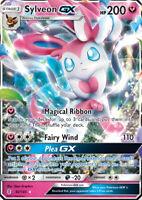 Sylveon GX 92/145 SM Guardians Rising Ultra Rare Pokemon Card MINT TCG