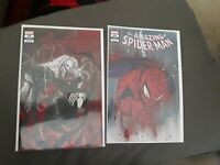 Venom Spiderman Knull Peach Variant Momoko Set  NM/NM+