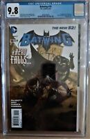 BATWING 19 1ST APP OF LUKE FOX Highest Graded 1 of 37 CGC 9.8 White Pages