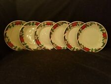 TIENSHAN FINE CHINA Deck the Halls Holiday Salad Plate(s)