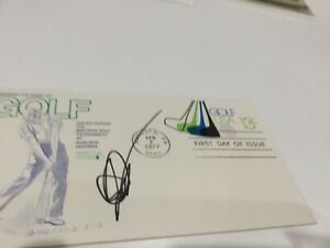 John Daly PGA golfer signed FDC GUARANTEED Authentic