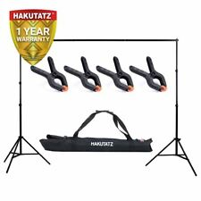 Background Support System Kit | 2x2m | Lightweight Adjustable | Hakutatz