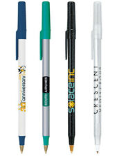 500 Personalized BIC Round Stic Pens Printed with Your Logo or Message