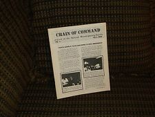 Chain of Command mags 1 & 2 combined issue near mint!