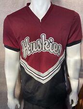 Mens Varsity Cheerleader Huskies High School Uniform Top, Size 40 - S/Medium