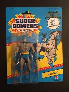 BATMAN Super Powers Collection 30th Anniversary Mattel DC Universe Classics