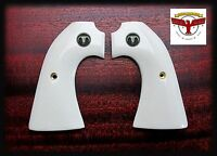 COLT BISLEY MAGNA-TUSK™ IVORY GRIPS ~ SINGLE ACTION ARMY SAA + Steer Skull