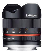 Samyang 8mm f/2.8 UMC OJO DE PEZ Mk2 Sony Fit Negro-ex-E Demo