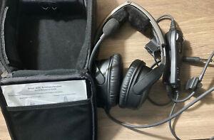 Bose A20 aviation headset dual plug