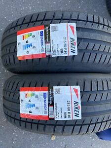 2x 215/60 R16 RIKEN 99H, ROAD PERFORMANCE XL (MADE BY MICHELIN) Brand New