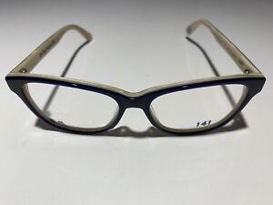 Brand New 141 Eyeglasses Sandy Blue Marble Size 49-16-135