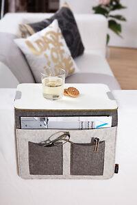 Sofa Butler Minitisch Ablage Sofatablett Hängetisch Beistelltisch Sofatablett