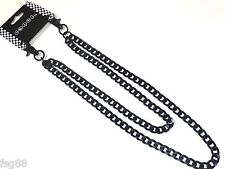 "NEW 20"" Black Double Link Biker Trucker Jean Wallet Thick Heavy Chain"