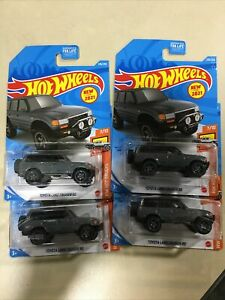 NEW 2021 HOT WHEELS CASE N TOYOTA LAND CRUISER 80 LOTS OF 4
