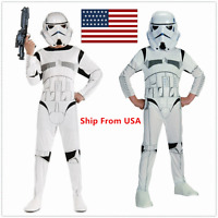 Star Wars Stormtrooper Storm Trooper Costume Cosplay Party Halloween Adult White