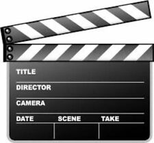 At The Movies - CLAPPER BOARD XL Hollywood Award OSCARS Themed Party DECOR 3-1C