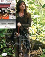 Mira Furlan Actress Lost Signed 8x10 Photo with JSA COA