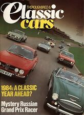 Thoroughbred & Classic Cars - January 1984