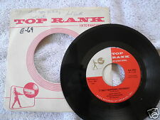 1960 Jack Scott Top Rank Record 2055 It Only Happened Yesterday 45 RPM VG+ CLEAN